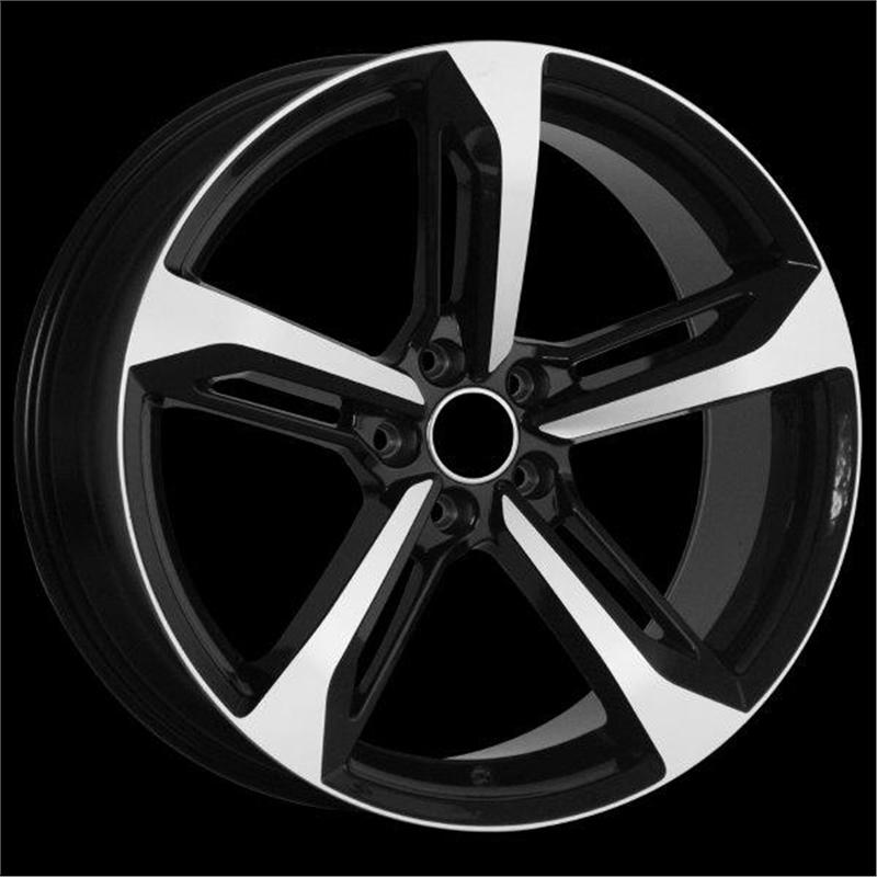 optional wheels ARISTIDE BLACK POLISHED
