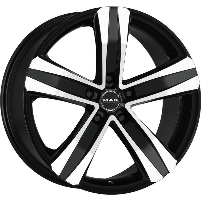 STONE BLACK MIRROR 5 foriMercedes Benz M-Klass 2005