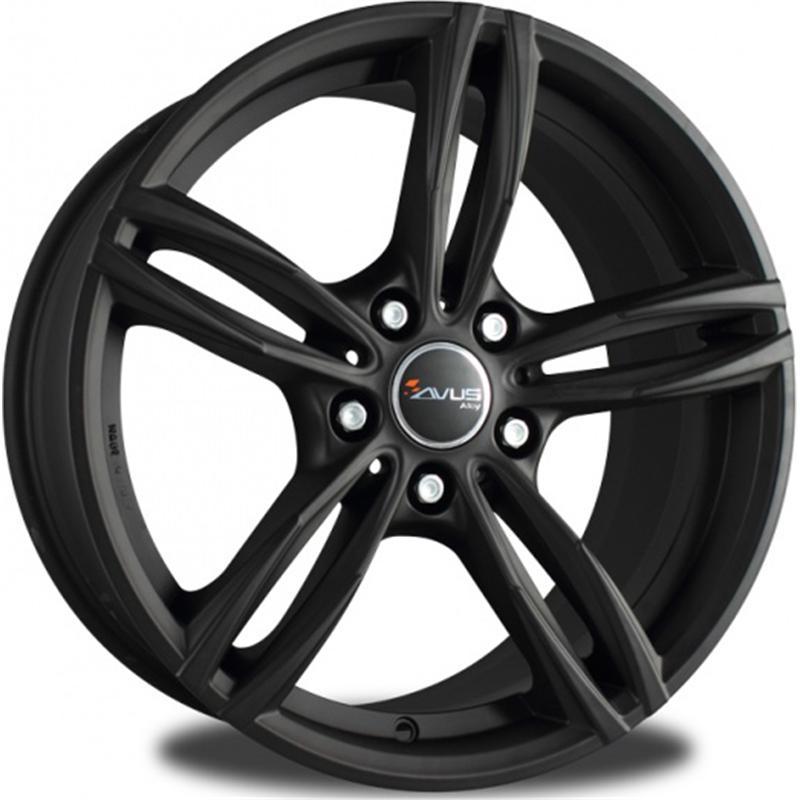 AF15 MATT BLACK 5 foriAudi A6 2012