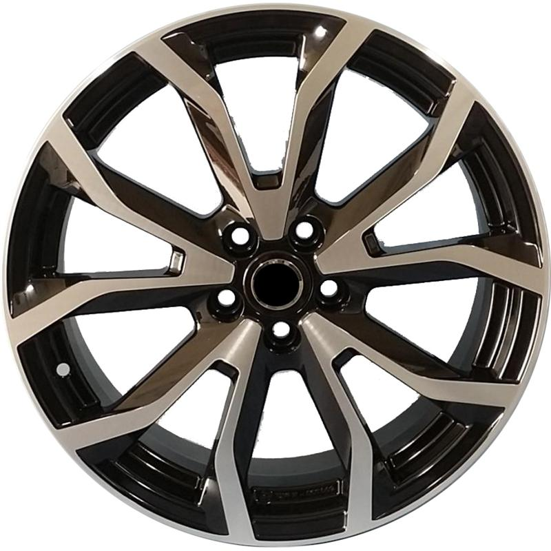 optional wheels ESSE BLACK POLISHED
