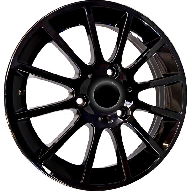 optional wheels F001 SMART BLACK