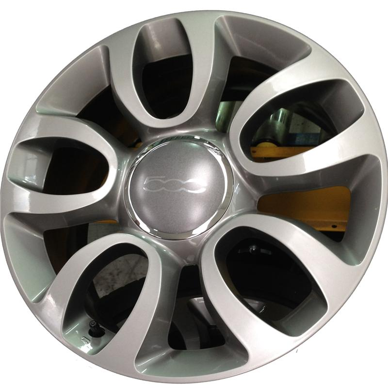 optional wheels FI169 ORIG. SMONTATI NUOVI 500 L ANTRACITE OPACO