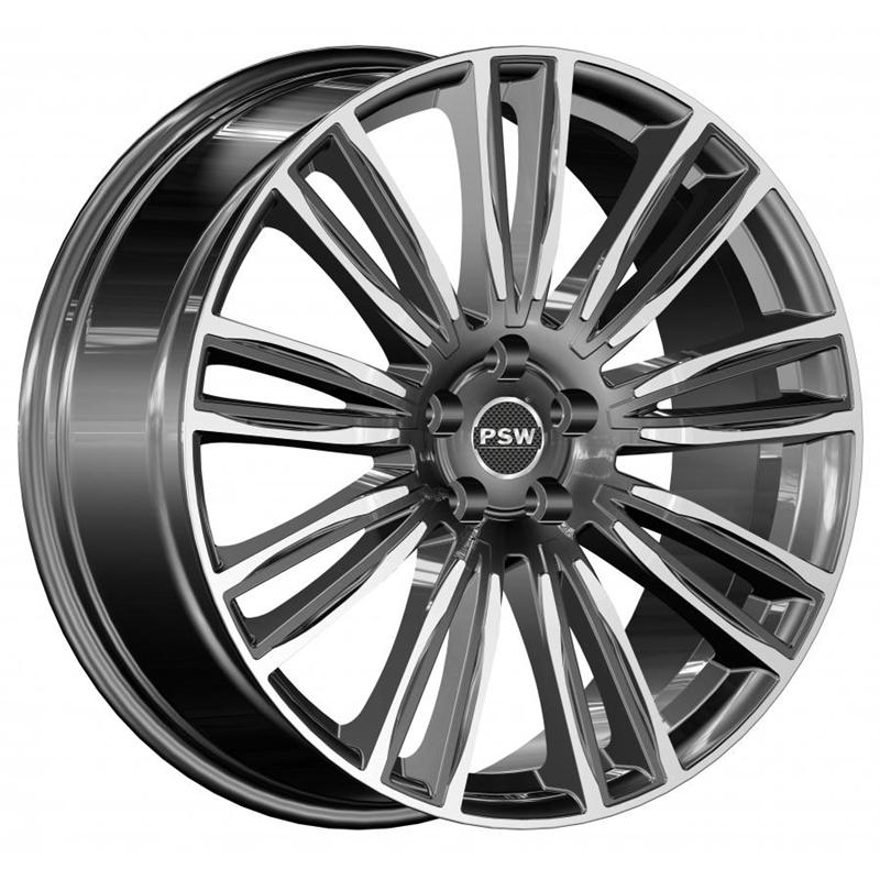 optional wheels PSAUS ANTRACITE POLISHED