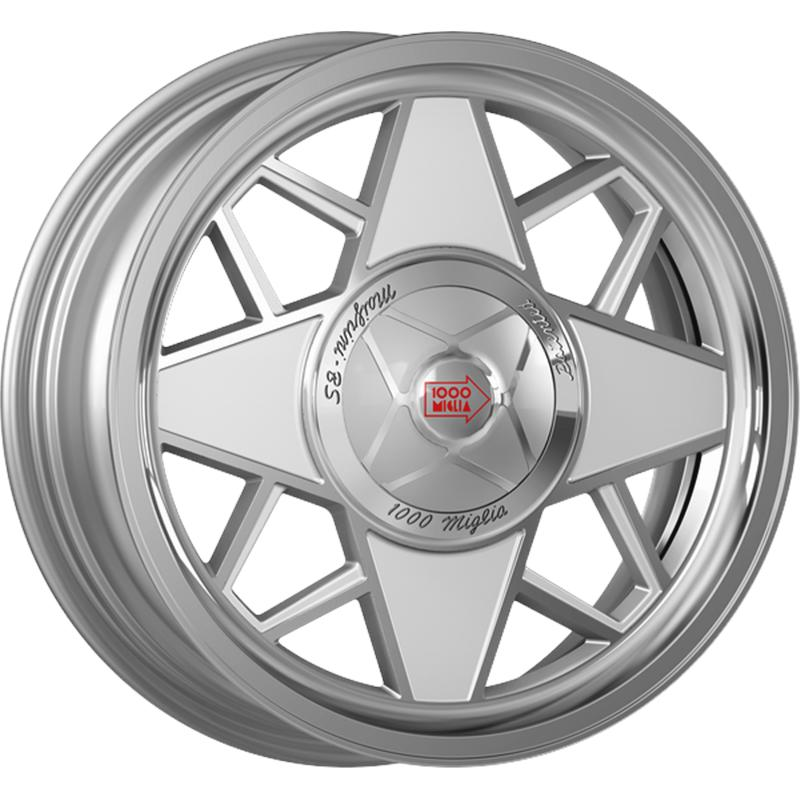 mille miglia MM500 SILVER POLISHED