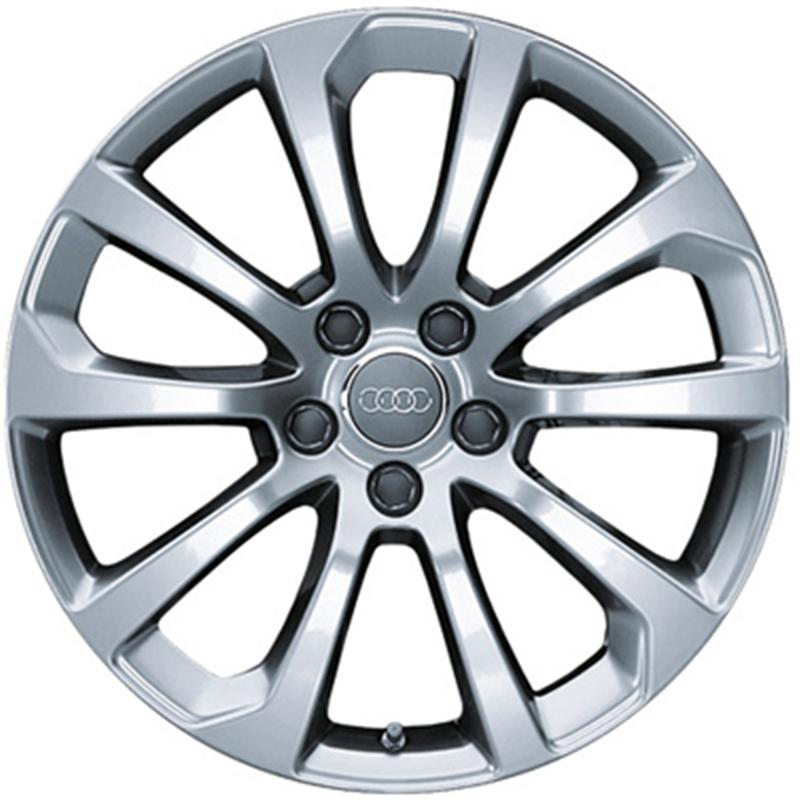 optional wheels OE A3 10 SPOKE - ORIGINALI AUDI NUOVI SILVER