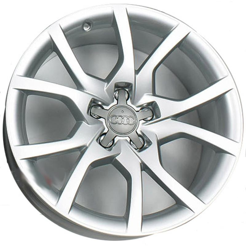 optional wheels OE A5 - ORIGINALI AUDI NUOVI SILVER