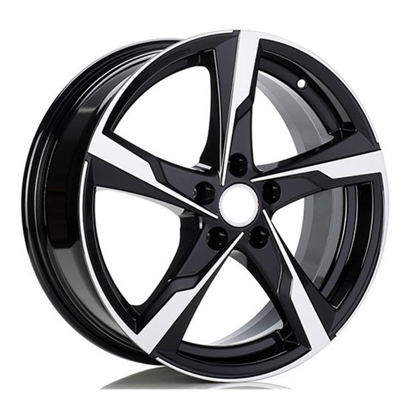 optional wheels OSLO BLACK POLISHED