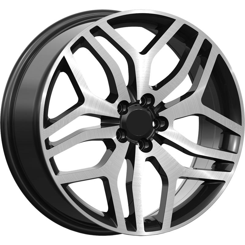 optional wheels PSDHA - DEDICATED RANGE - (Omol ECE) GLOSSY BLACK POLISHED