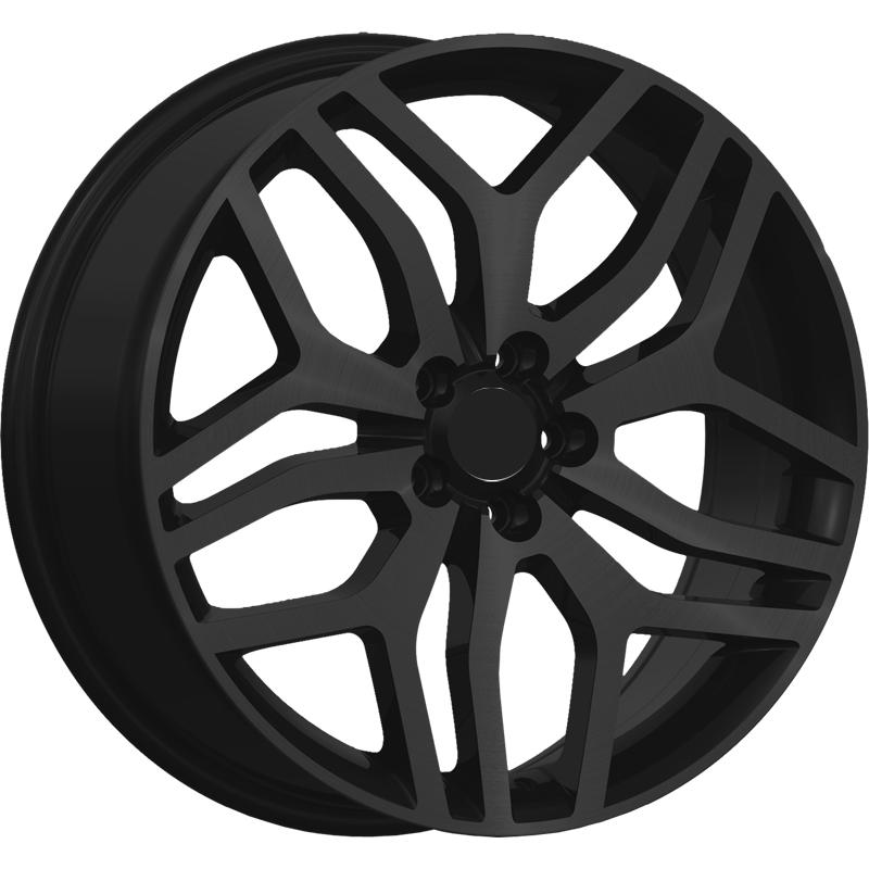 optional wheels PSDHA - DEDICATED RANGE - (Omol ECE) GLOSSY BLACK