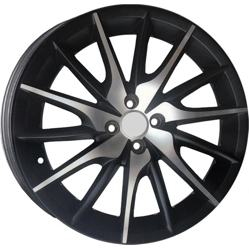 optional wheels PSBA - DEDICATED ALFA - (Omol ECE) BLACK POLISH