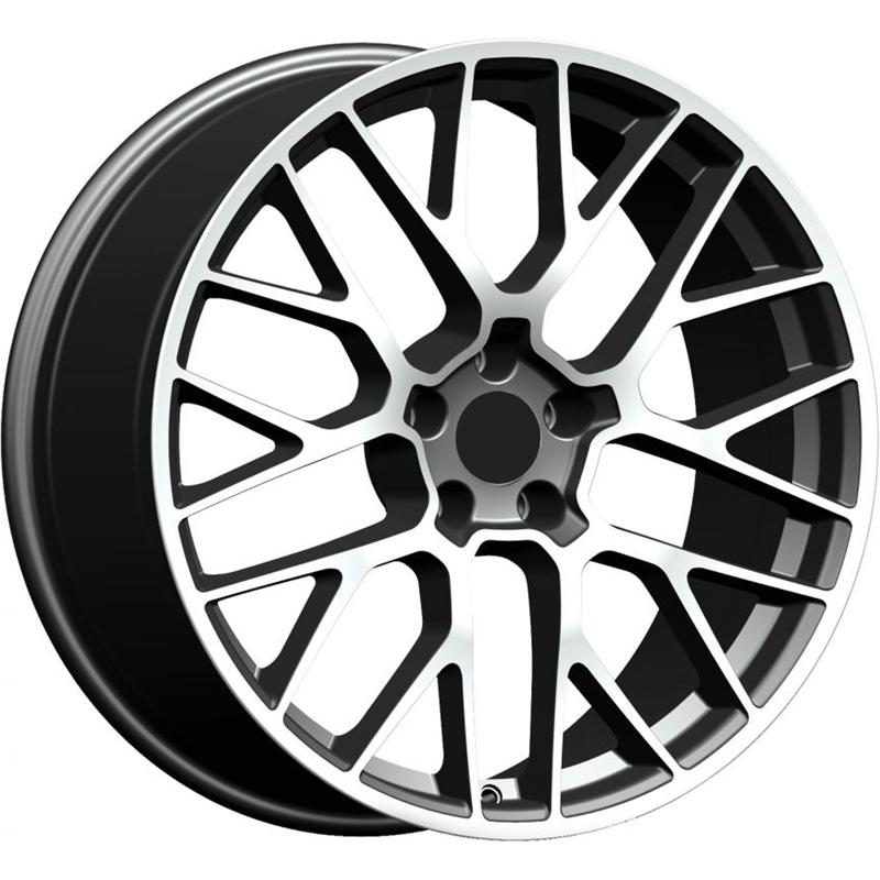 optional wheels PSIND - DEDICATED PORSCHE - (Omol ECE) GUN METAL POLISHED