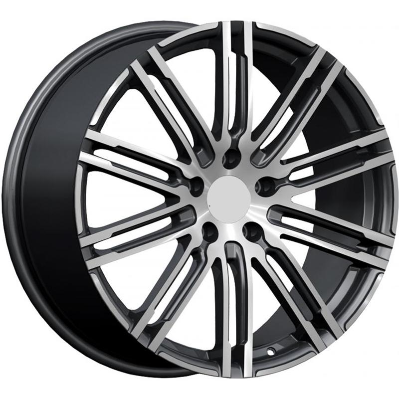optional wheels PSMLY - DEDICATED PORSCHE - (Omol ECE) GUN METAL POLISHED