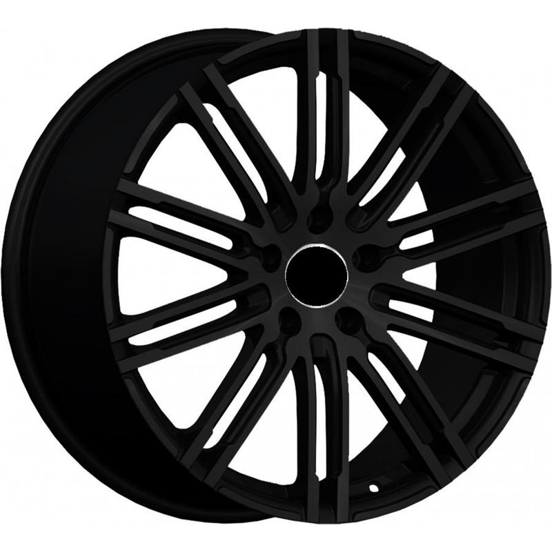 optional wheels PSMLY - DEDICATED PORSCHE - (Omol ECE) GLOSSY BLACK