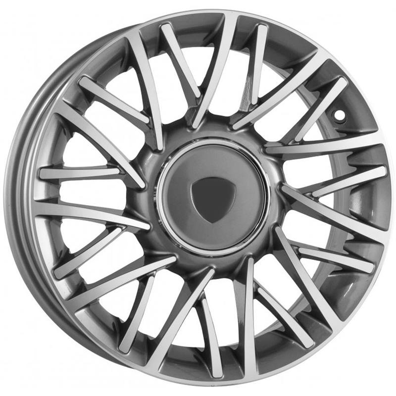 optional wheels PSMO - DEDICATED LANCIA - (Omol ECE) GUN METAL POLISHED