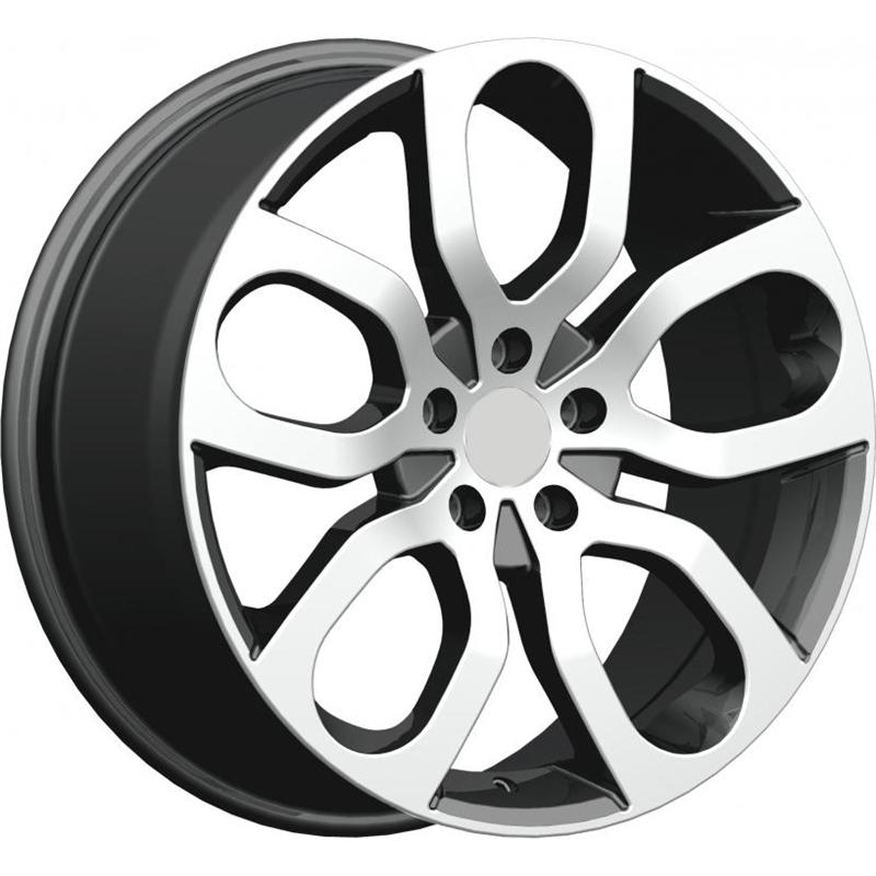 optional wheels PSRYD - DEDICATED RANGE - (Omol ECE) GUN METAL POLISHED
