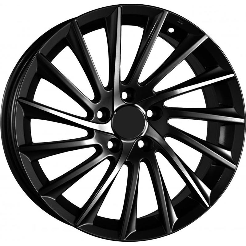 optional wheels PSSH - DEDICATED ALFA - (Omol ECE) BLACK POLISHED
