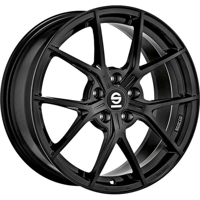sparco PODIO GLOSSY BLACK