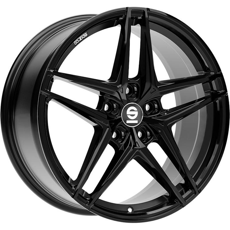 sparco RECORD GLOSSY BLACK