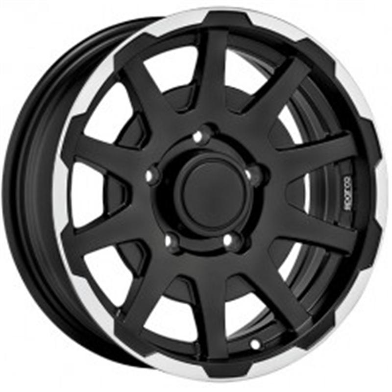 sparco DAKAR MATT BLACK LIP POLISH